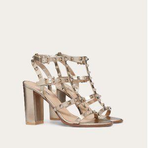 VALENTINO GARAVANI rockstud sandal heels